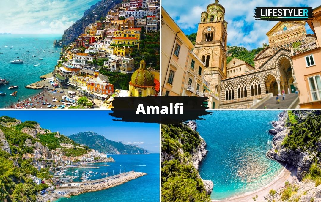 Amalfi Włochy widoki