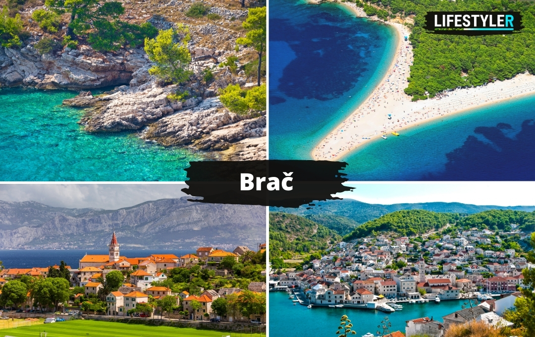 Atrakcje turystyczne w Chorwacji - Wyspa Brac
