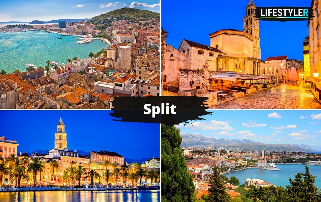 Atrakcje, zabytki i miasta w Chorwacji - Split