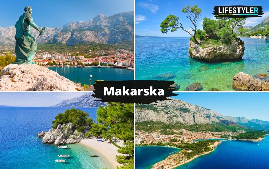 Makarska Riviera w Chorwacji