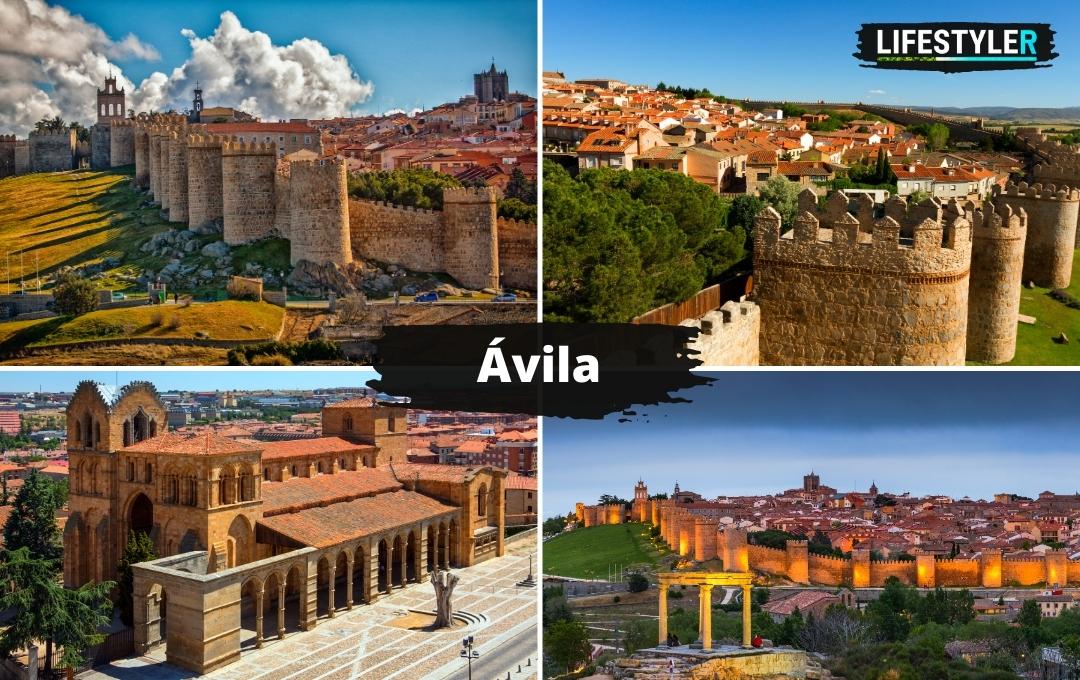 Najpiękniejsze miejsca w hiszpanii - Avila