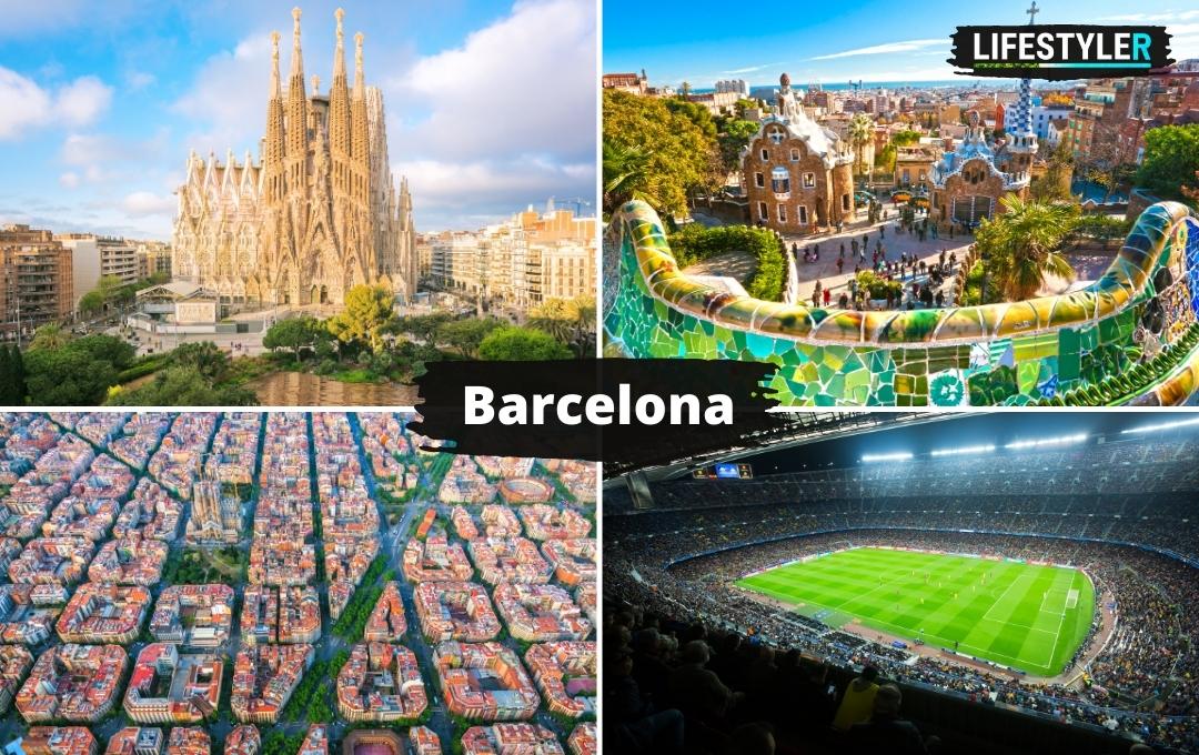 Najpiękniejsze miejsca w hiszpanii - Barcelona