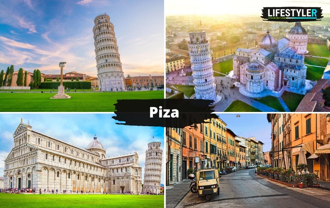 Piza Włochy krzywa wieza