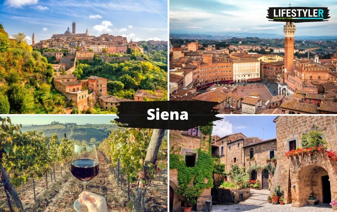 Siena Toskania Włochy