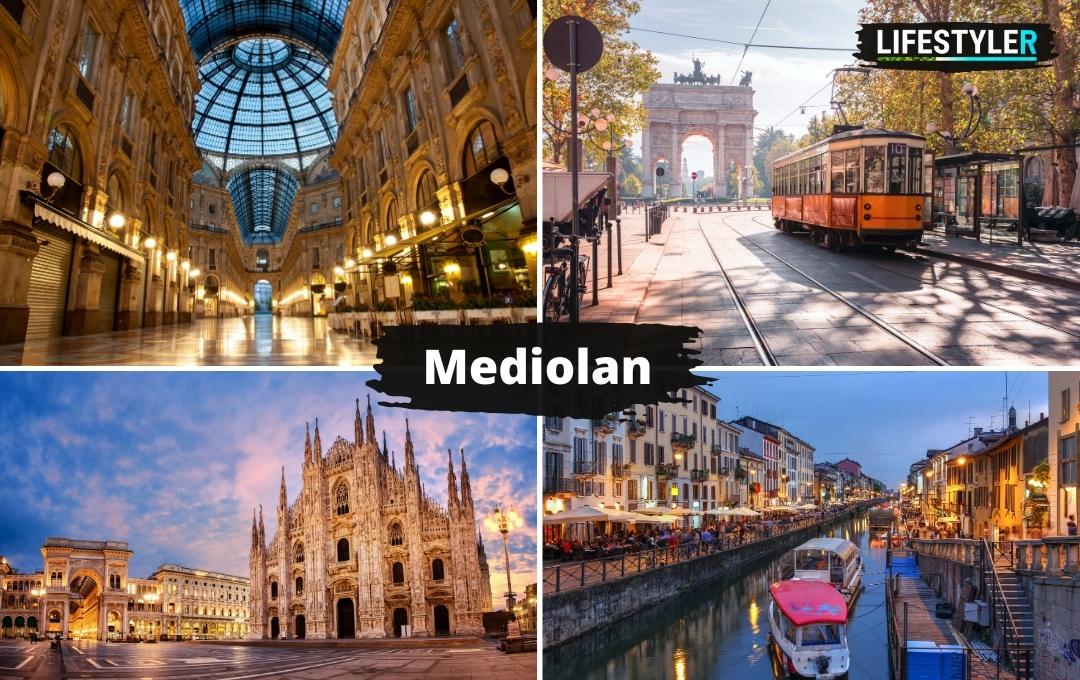 Włochy zabytki Mediolan