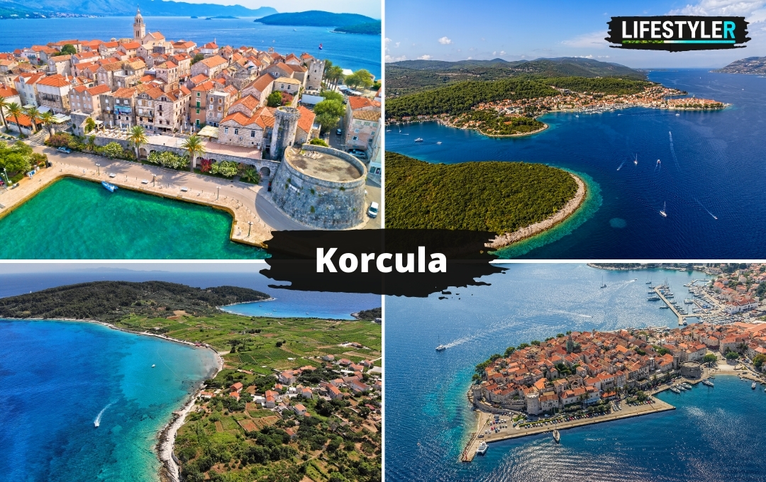Wyspa Korcula w Chorwacji