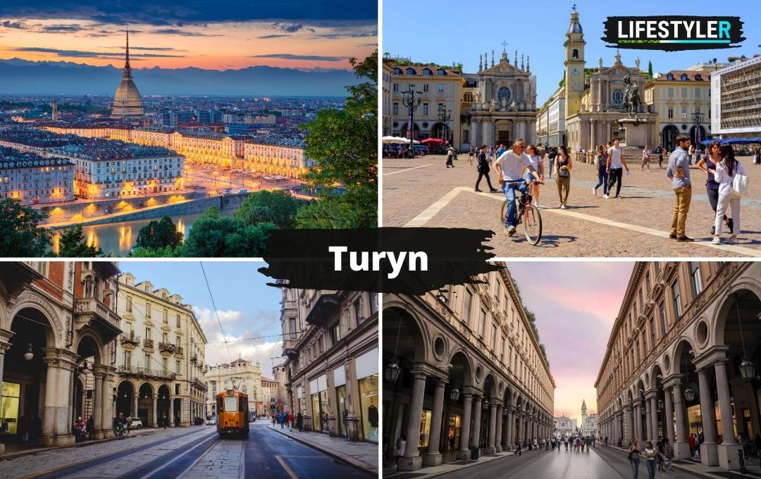 miasto Turyn Włochy