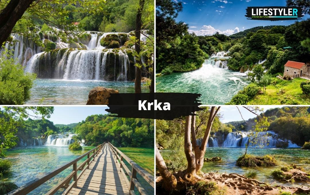wodospady Krka w Chorwacji