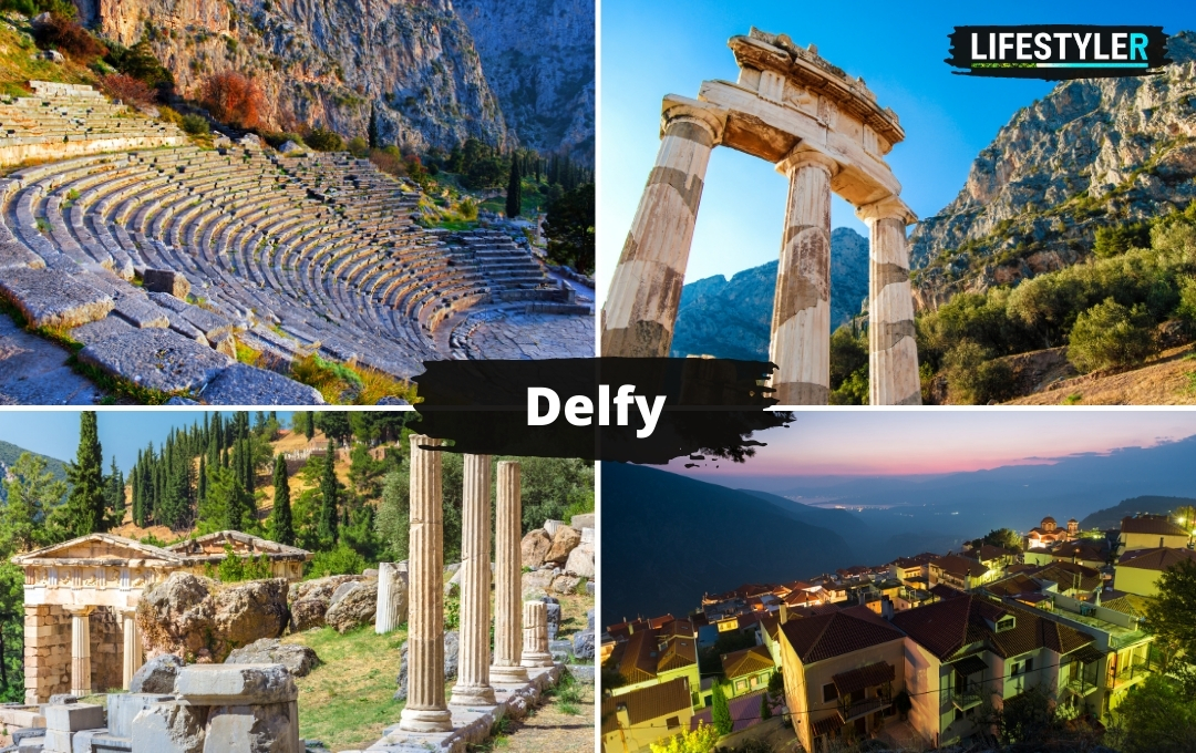 Delfy Wyrocznia Delficka Grecja