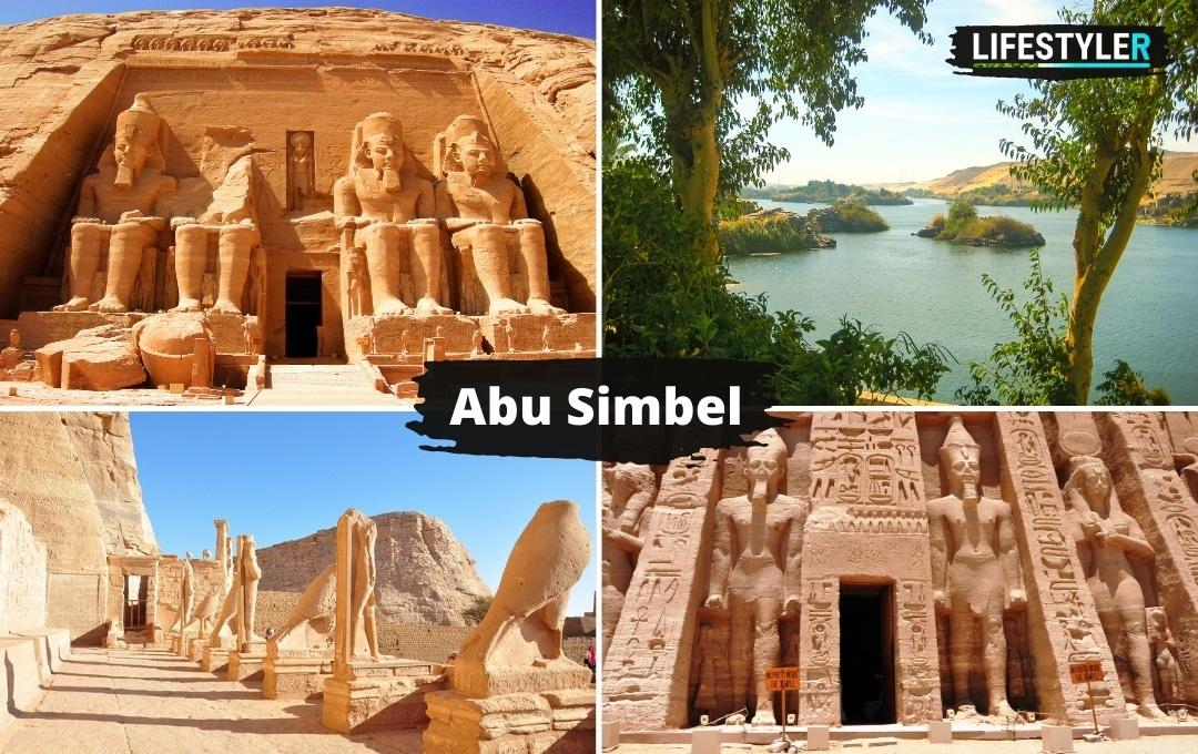Egipt Abu Simbel zabytki
