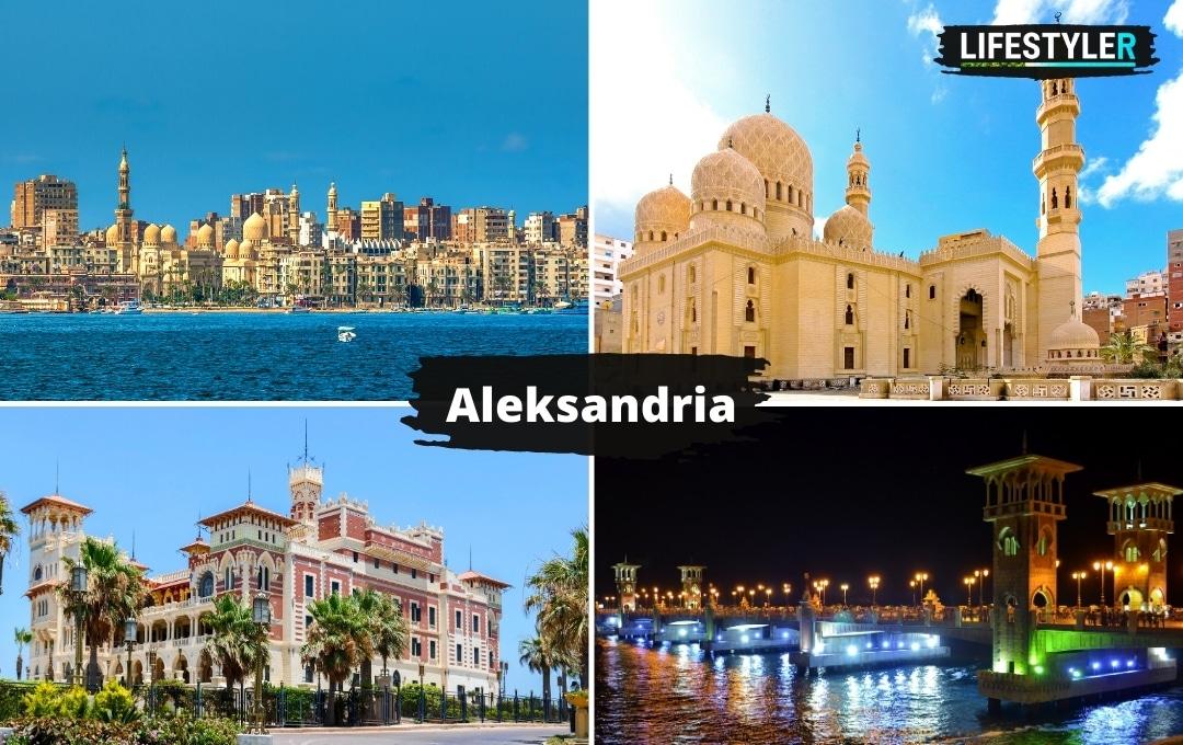 Egipt Aleksandria zabytki