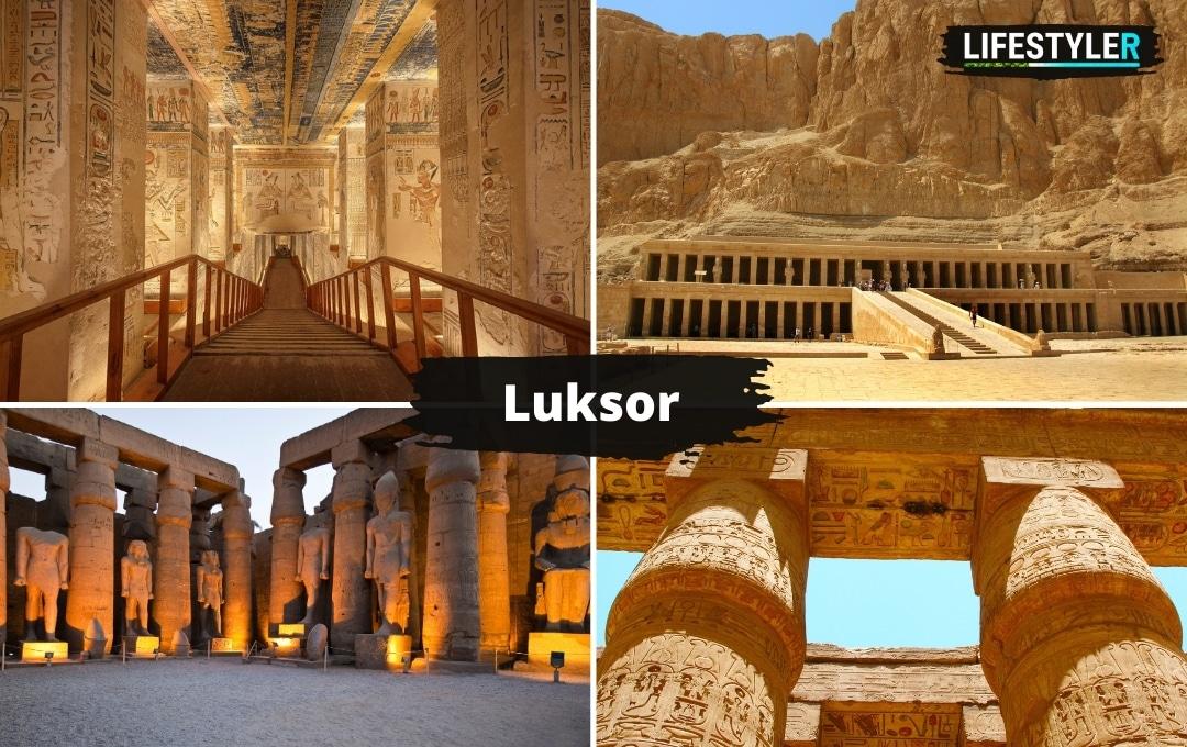 Egipt Luksor zabytki