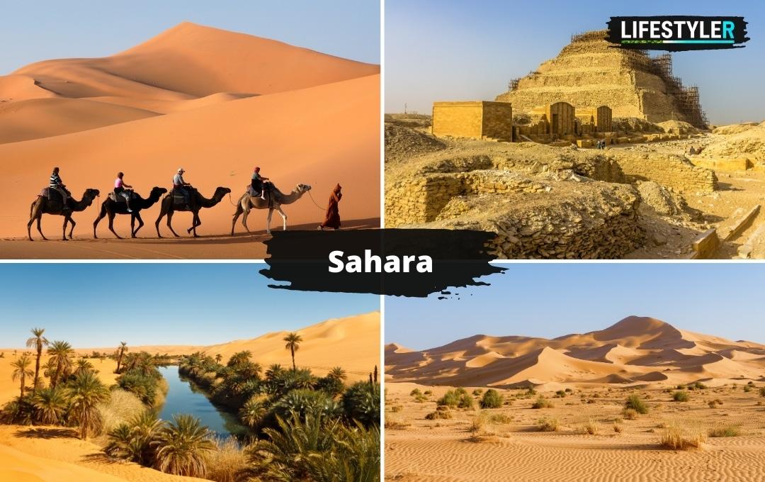 Egipt Sahara pustynia