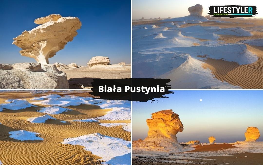 Egipt biała pustynia