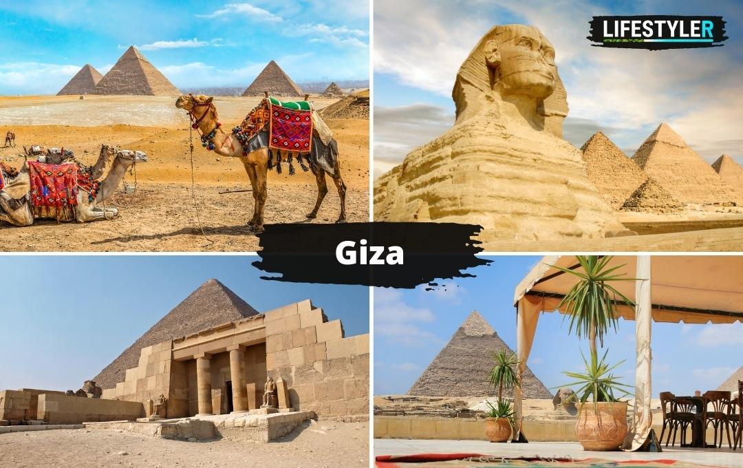 Egipt najpiękniejsze miejsca Giza