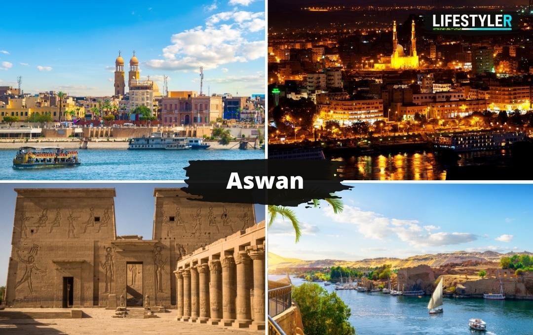 Egipt zabytki Aswan