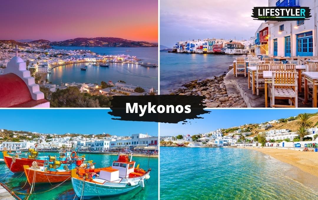 Grecja Wyspa Mykonos wczasy