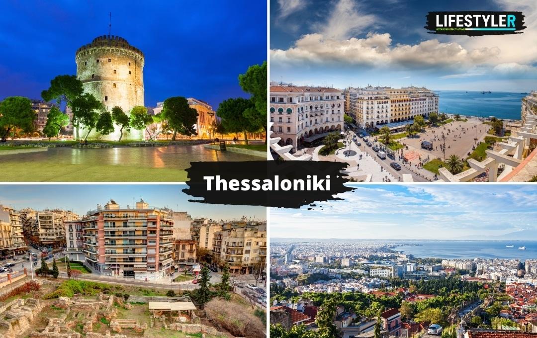 Grecja miasto Thessaloniki