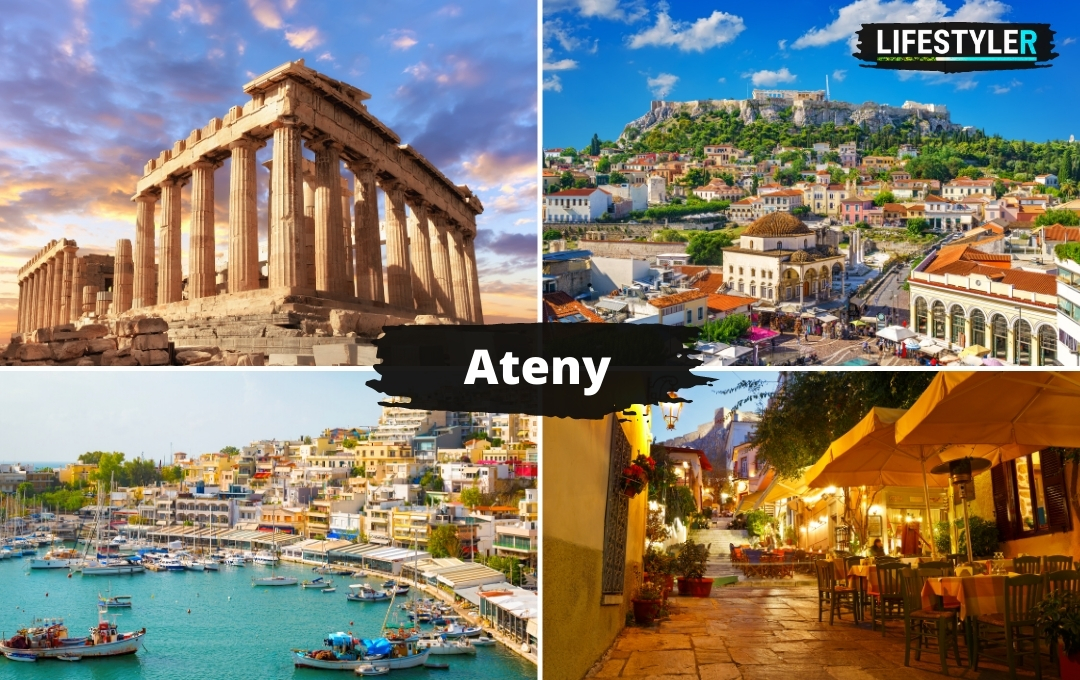 Grecja piękne miejsca Ateny