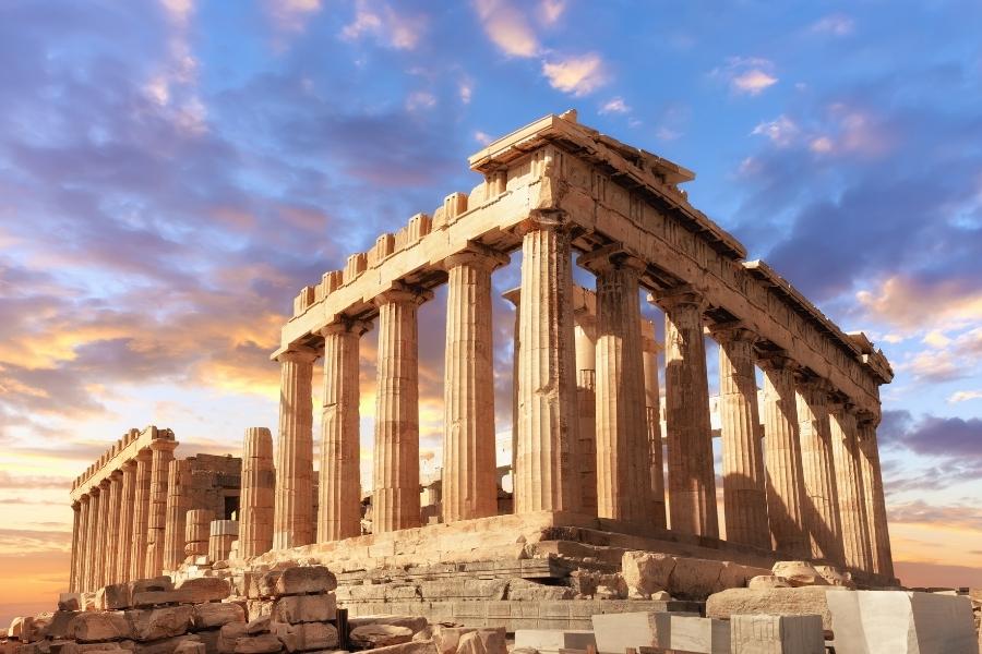 Grecja zabytki atrakcje Akropol