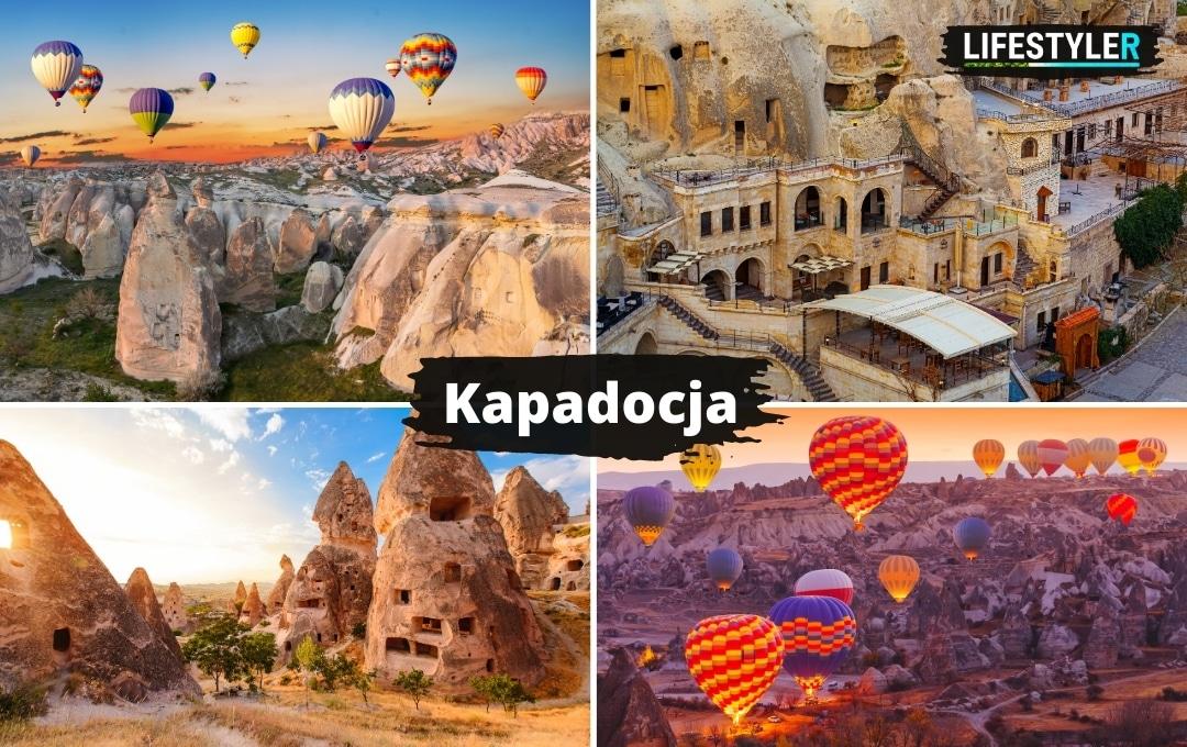 Latające balony Turcja Kapadocja