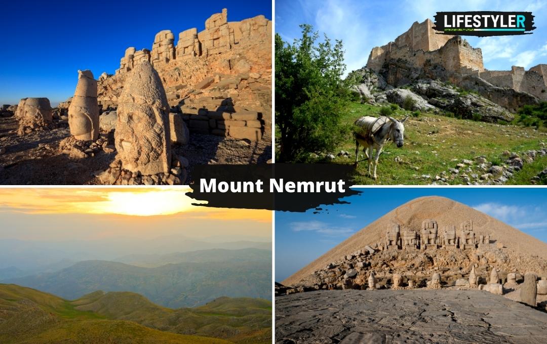 Mount Nemrut Góra Turcja