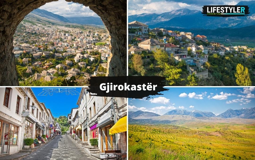 Najlepsze miejsca w albanii Gjirokastër