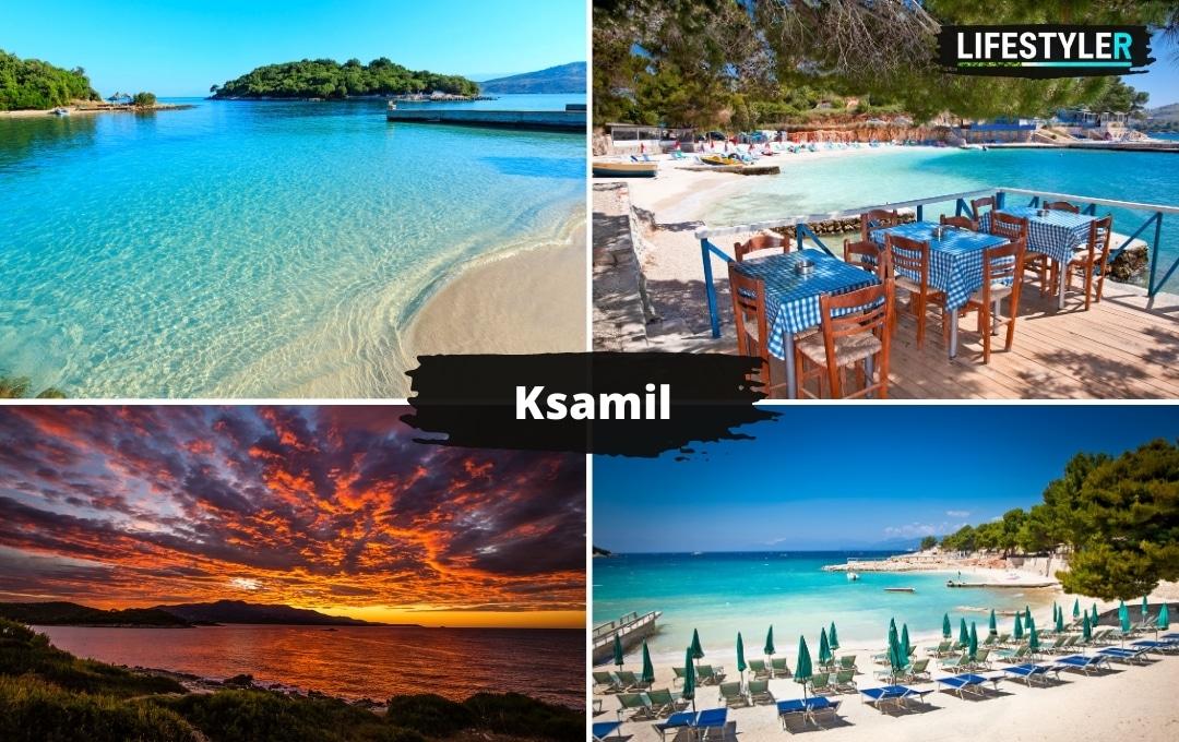 Najpiękniejsze miejsca w Albanii Ksamil