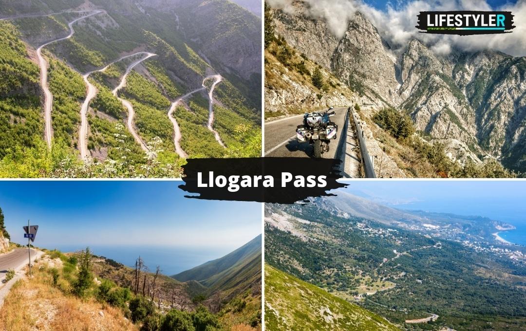 Najpiękniejsze miejsca w albanii Llogara Pass