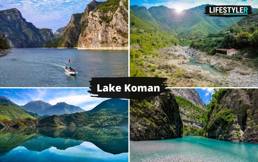 Najpiękniejsze miejsca w albanii lake koman