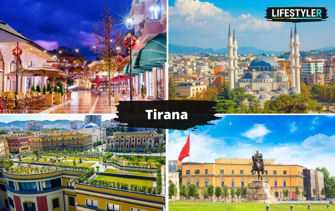 Najpiękniejsze miejsca w albanii tirana
