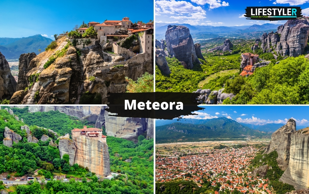 Niesamowite miejsca Grecja Meteora