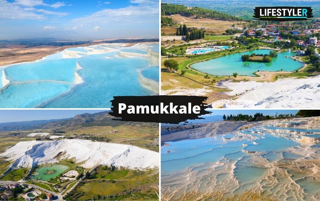 Pamukkale Turcja najpiękniejsze miejsca