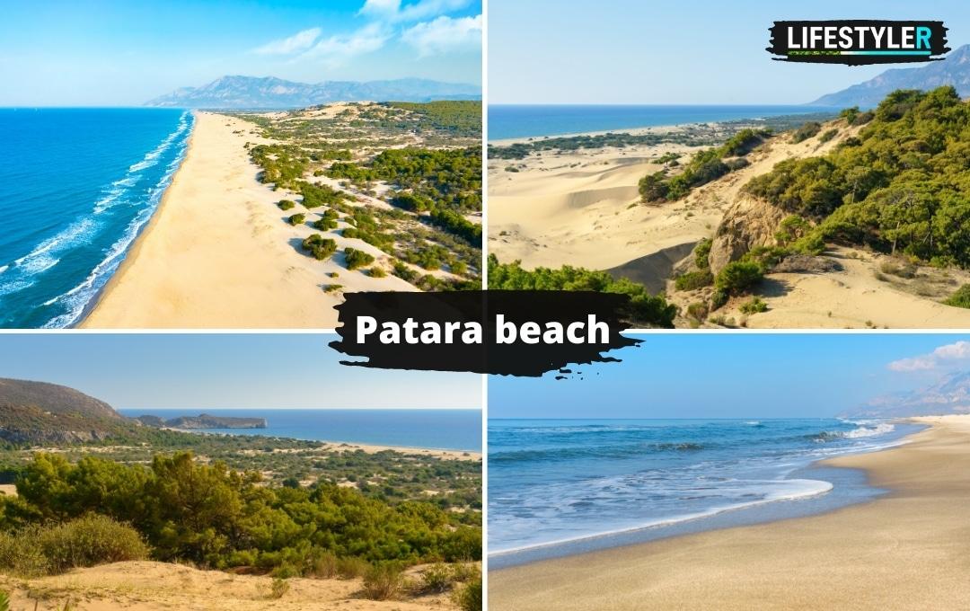 Plaża Patara beach w Turcji