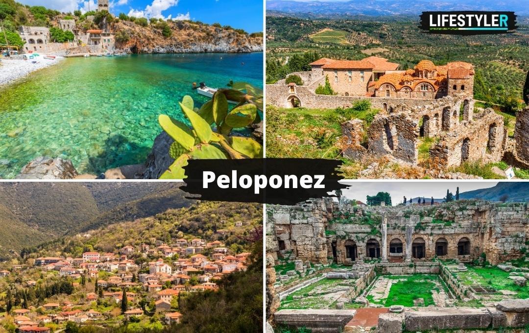 Region półwysep Peloponez Grecja