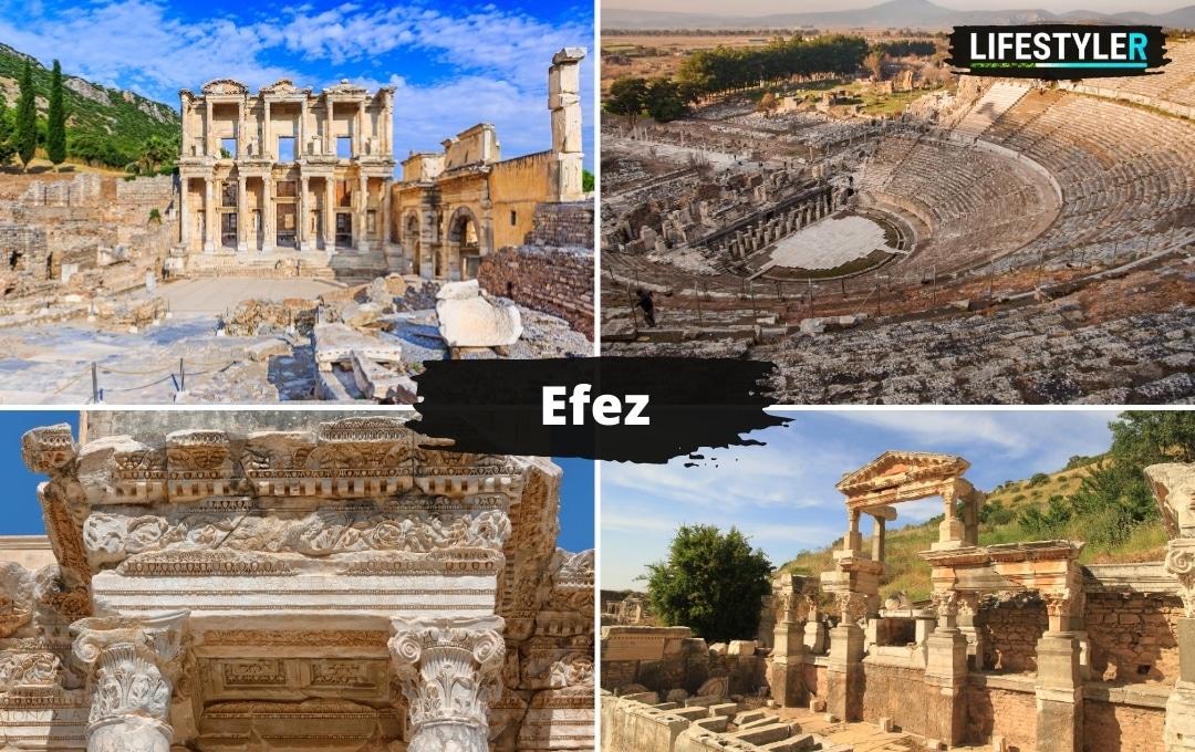 Starożytny Efez Turcja atrakcje