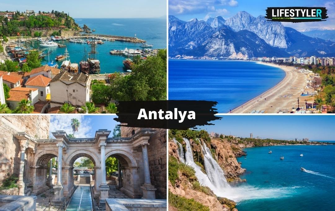 Turcja Antalya plaża zabytki