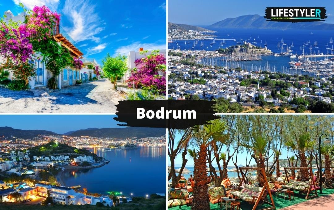 Turcja Bodrum piękne miejsca