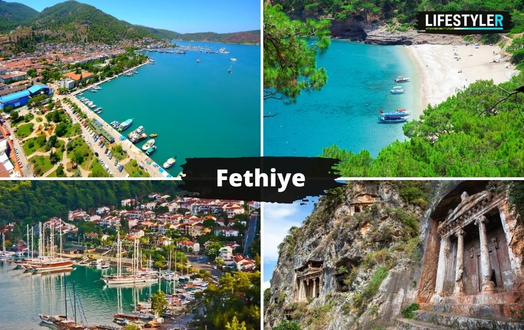 Turcja Fethiye ciekawe miejsca