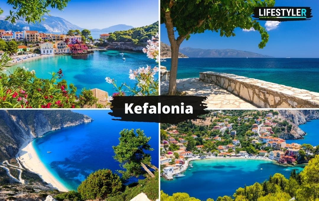 Wyspa Kefalonia Grecja Plaże