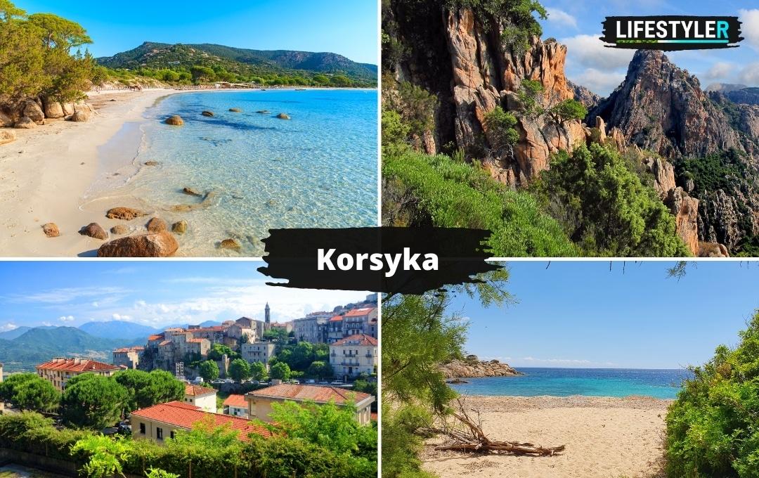 Wyspa Korsyka Najpiękniejsze wyspy