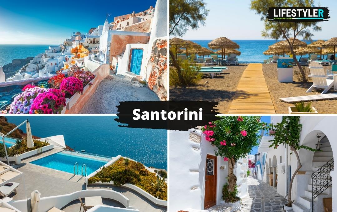 Wyspa Santorini Grecja
