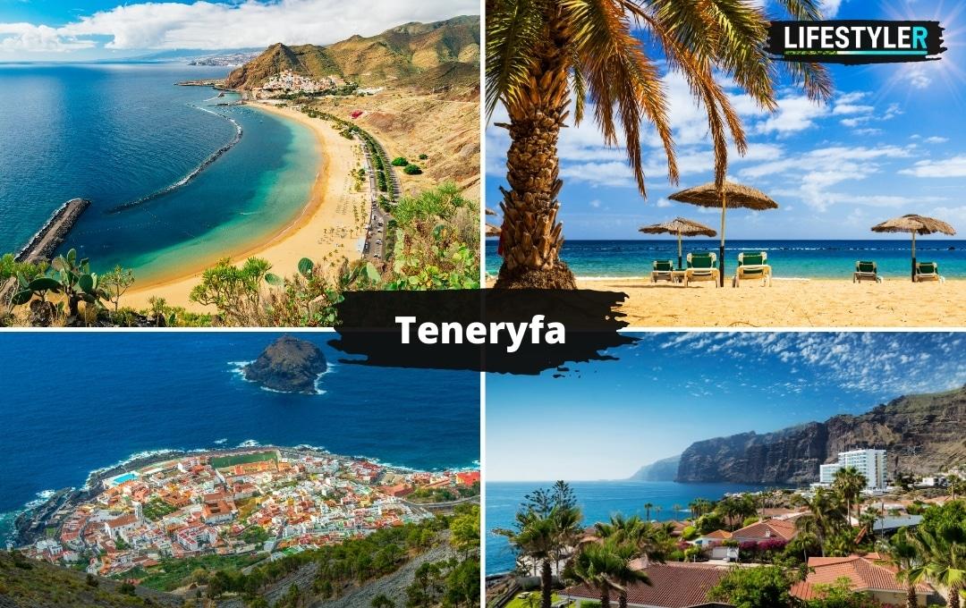 Wyspa Teneryfa wyspy kanaryjskie