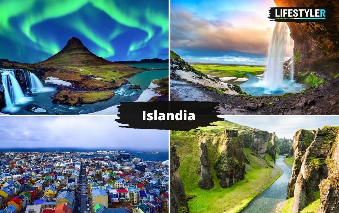 Wyspa w Europie Islandia