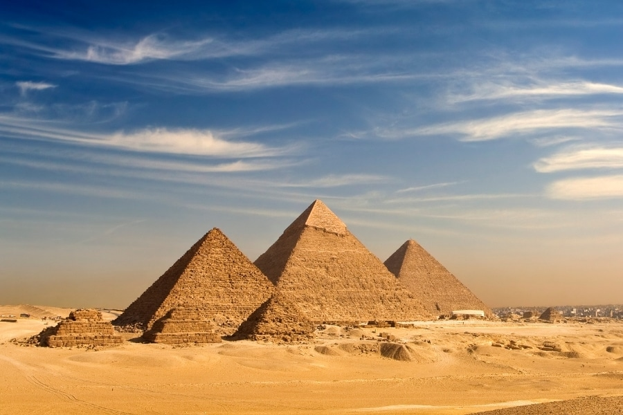 Najpiękniejsze miejsca w Egipcie Giza