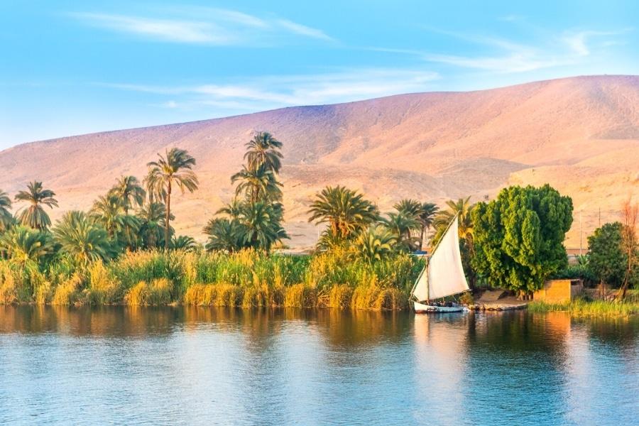 Najpiękniejsze miejsca w Egipcie - Nil