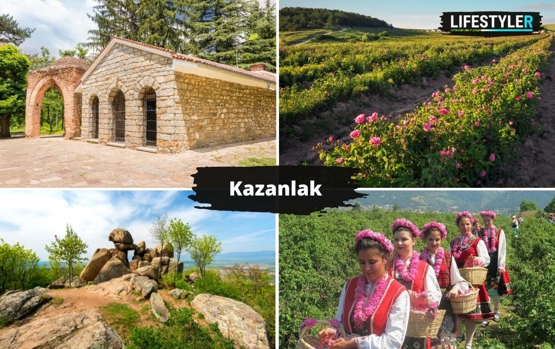 Najlepsze miejsca w Bułgarii Kazanlak