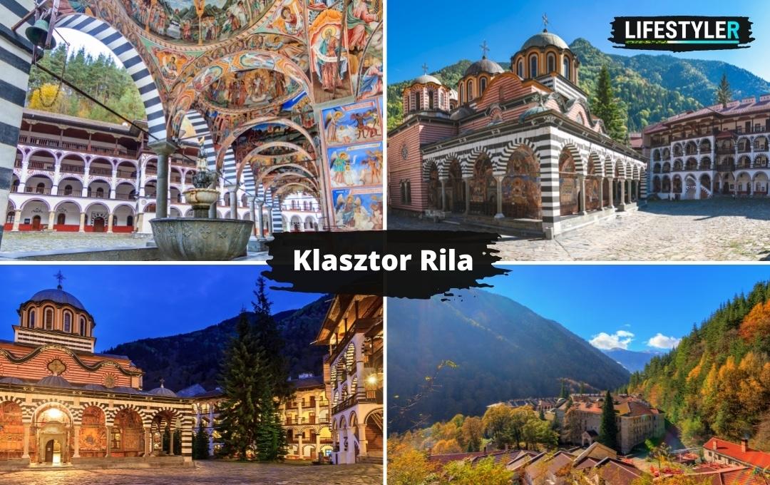 Najpiękniejsze miejsca w Bułgarii Rila klasztor