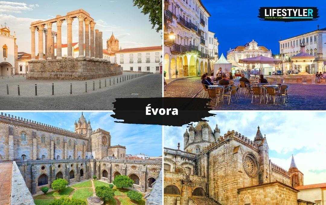 najlepsze miasta w portugalii Évora