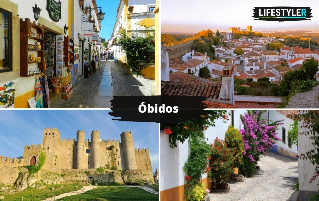 najpiękniejsze miasta w portugalii Óbidos